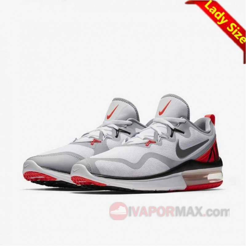 18SS新作 ナイキエアマックス フューリー ホワイト/インフラレッド/クールグレー AA5740-102 NIKE AIR MAX FURY White/infra red/cool gray レディース/WMNS