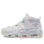 "18SS新作 ナイキ エア モア アップテンポ ベアリー グリーン/ホワイト ナイキ 917593-300 NIKE AIR MORE UPTEMPO ""BARELY GREEN"" BARELY GREEN/WHITE メンズ/MENS"