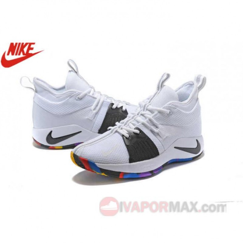 "huge selection of 1e4f1 f9625 18SS新作 NIKE PG2 ""NCAA-March Madness"" ホワイト/マルチカラー ..."