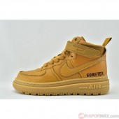 Nike 	AIR FORCE 1 LOW GORE TEX BOOT  CT2815-200 ナイキ エア フォース 1 HIGH GORE-TEX ブーツ 	Wheat Mocha  WHEAT/WHEAT/DARK MOCHA メンズ&レディース スニーカー