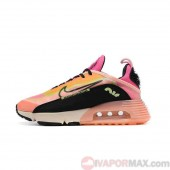 "20SS新作[【ナイキ】] エア マックス 2090 CT1290-700 NIKE Nike Air Max 2090 ""Neon Highlighter"" ベアリーボルト/アトミックピンク/ピンクグロー/ブラック Barely Volt/Atomic Pink/Pink Glow/Black ベアリーボルト/アトミックピンク/ピンクグロー/ブラック レディースランニングシューズ"